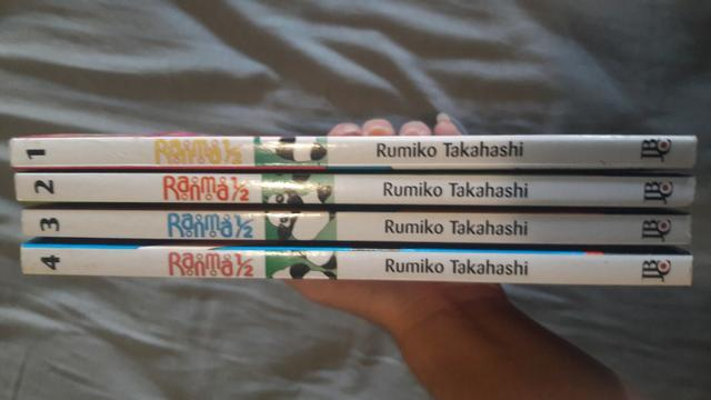 Ranma ¹/2 - volumes 1 a 4