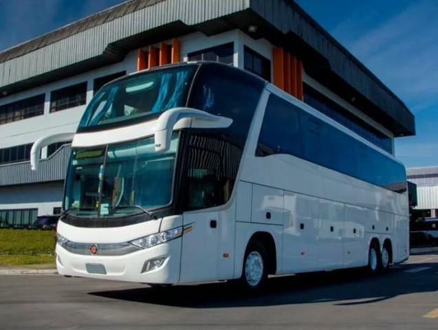 Ônibus Ld G7 1600 Marcopolo Scania K400 - Foto 4
