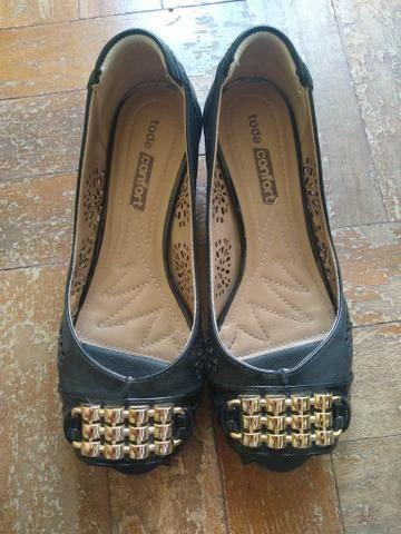 2d33a0250 Sapato marca Conforto Flex Tam. 37 - Roupas e calçados - Centro ...