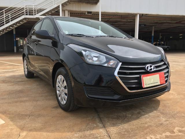 Hyundai Hb20 1.0 36mil km Impecável Ipva 2019 Pago Pneus Cabelo Completo Som no Volante