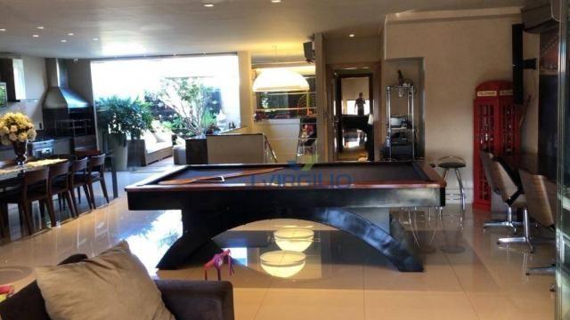 Apartamento triplex com 4 dormitórios à venda, 400 m² por r$ 1.399.000,00 - setor nova sui