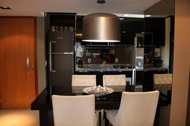 Apartamento com 2 dormitórios à venda, 54 m² por r$ 180.000 - setor dos afonsos - aparecid - Foto 8