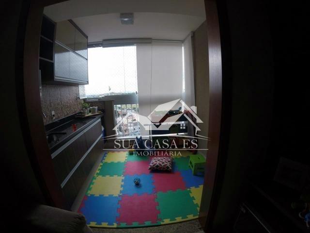 GM Apartamento à venda com 3 dormitórios em Colina de laranjeiras, Serra - Foto 6