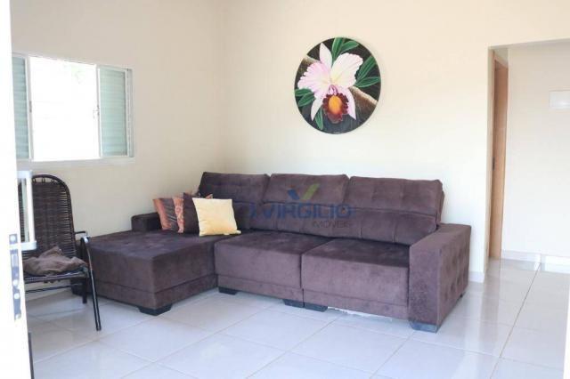 Casa com 3 dormitórios à venda, 150 m² por R$ 210.000 - Residencial Privê Norte - Goiânia/