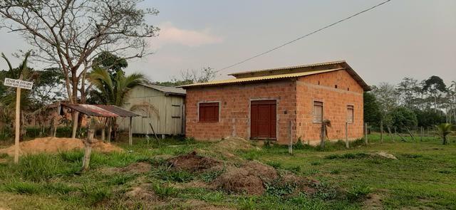 Casa recém construída medindo 8x10 no polo benfica - Foto 2