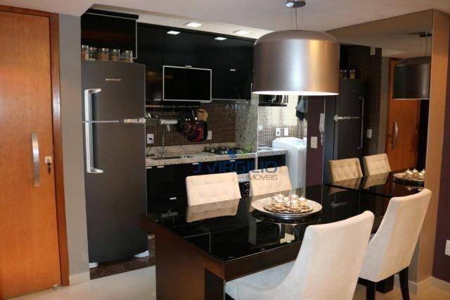 Apartamento com 2 dormitórios à venda, 54 m² por r$ 180.000 - setor dos afonsos - aparecid - Foto 9