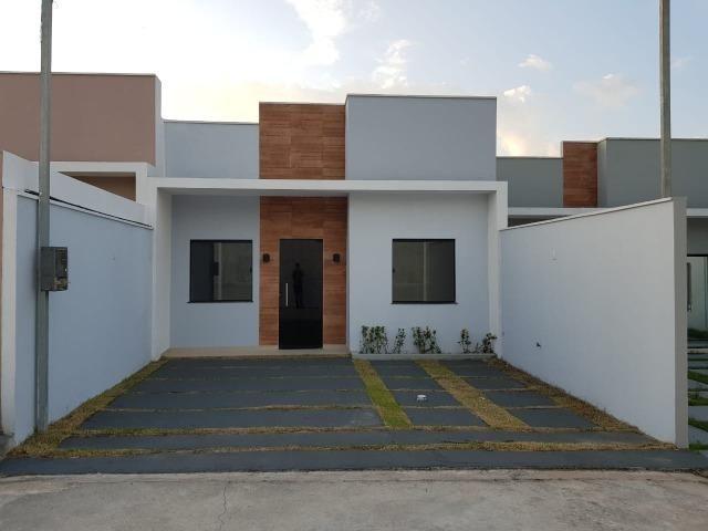 Belíssima Casa em Ananindeia - PA, 3 quartos com suíte, 2 vagas