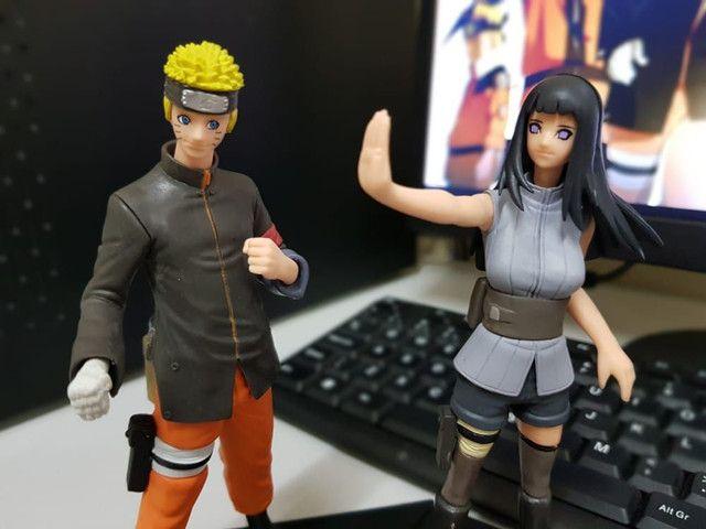Estatueta Naruto e Hinata - Foto 3