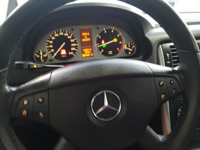 Mercedes B170 com 66 mil km rodados Raridade vendo troco e financio R$ 33.900,00 - Foto 13