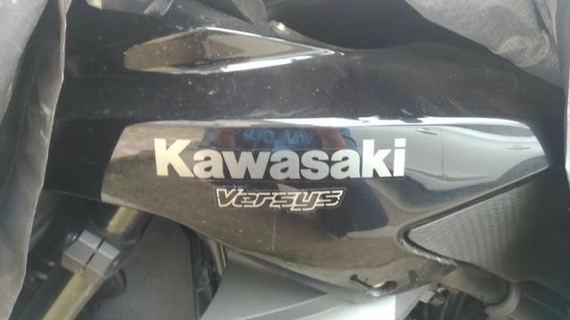 Kawasaki Versys 650 - 2012 - Muito Conservada - Foto 3