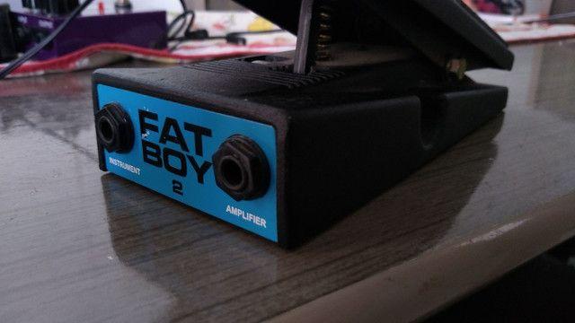 Pedal Fuhrmann classic 800/ wah wah oner Fatboy2 e fonte - Foto 3