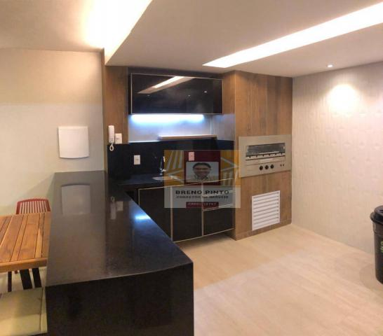 Apartamento para venda com 3 quartos e lazer completo no Guararapes - Foto 4