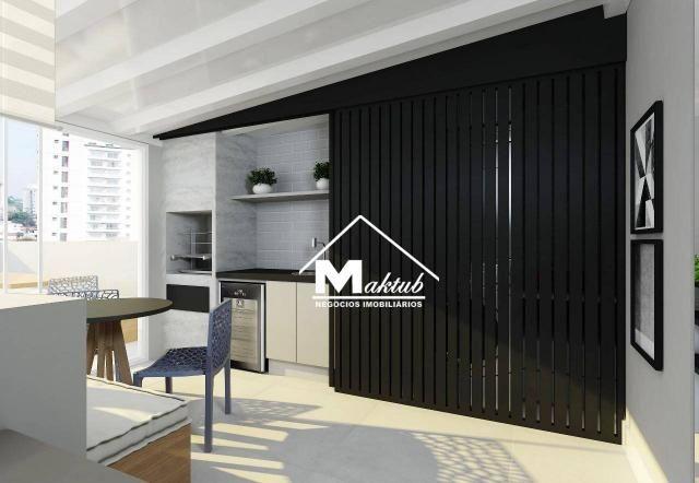 Cobertura com 2 dormitórios à venda, 88 m² por R$ 430.000,00 - Jardim - Santo André/SP - Foto 2
