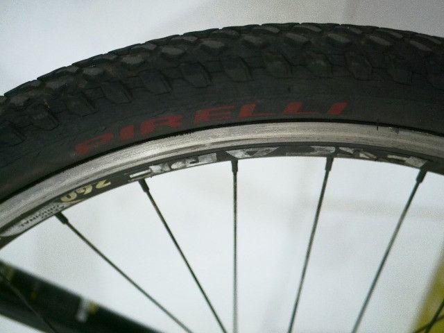 Bike Mosso, Relação Shimano Alívio - Foto 3
