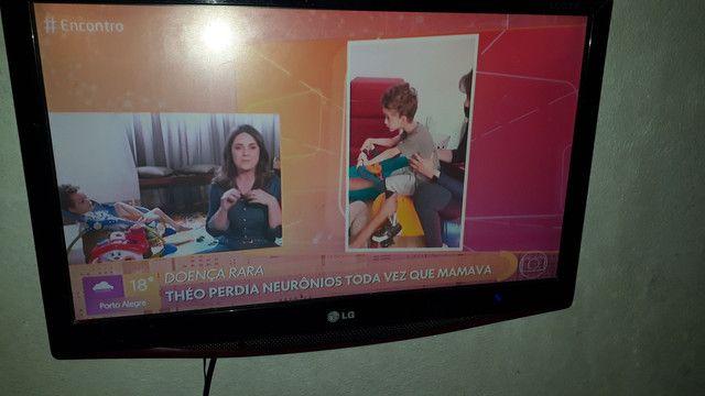 Troco tv 18 polegada em celular