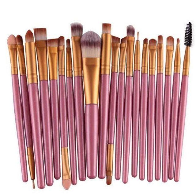 Pincel Para Maquiagem Kit Com 20 und - Foto 5