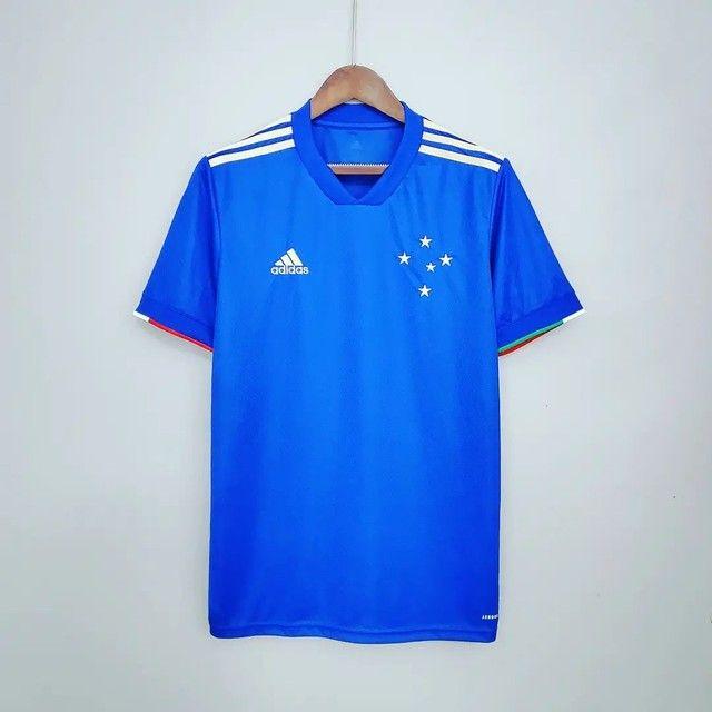 Camisa do Cruzeiro comemoração Premium