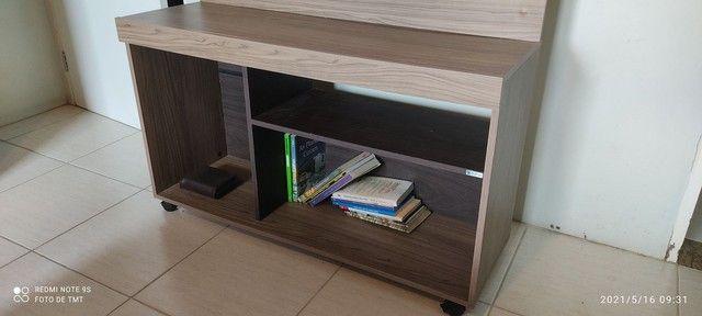 Rack com painel de TV - VENDO ou TROCO - Foto 3