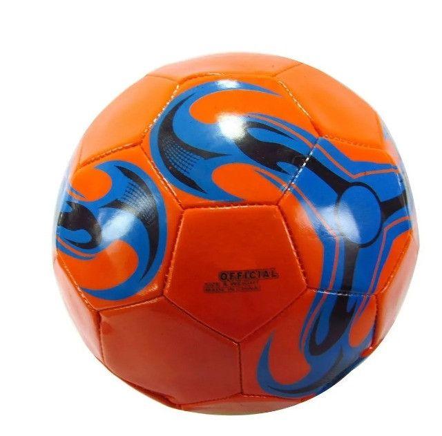 555 - Bola de Futebol Para Campo Sport Tamanho 5 PVC - Foto 3