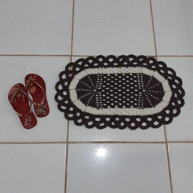 Tapetes de crochê  - Foto 2