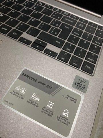 Notebook  Samsung 03 meses de uso - Foto 2