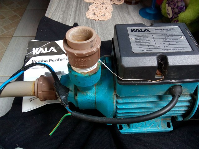 Bomba periférica d'água ( kala - Foto 2