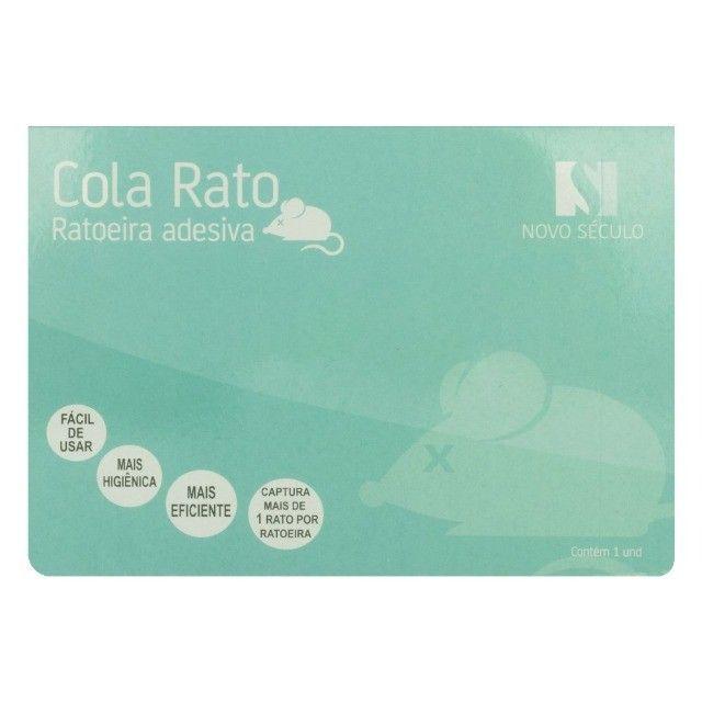 Cola Reto Ratoeira Adesiva Novo Seculo 38 26CM NS-1442 - Foto 2