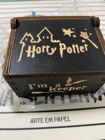 Caixinha Harry Potter Preta