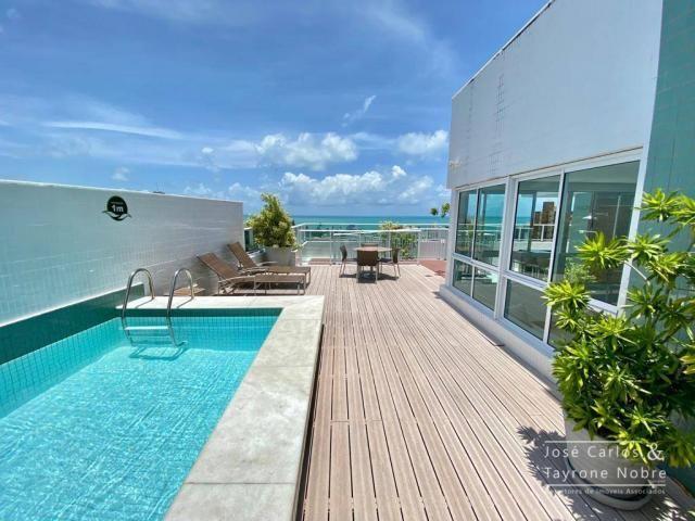 Apartamento de 1 quarto com vista para o mar - Manaira