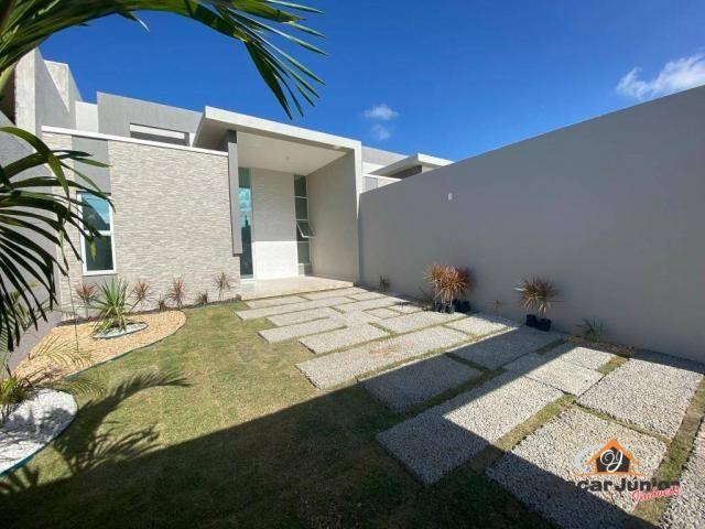 Casa com 3 dormitórios à venda, 90 m² por R$ 270.000 - Centro - Eusébio/CE - Foto 3