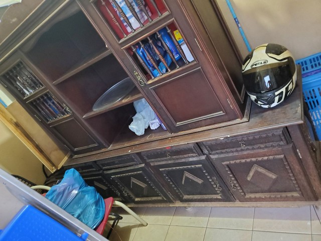 Estante.. peça... móvel antigo...  - Foto 4