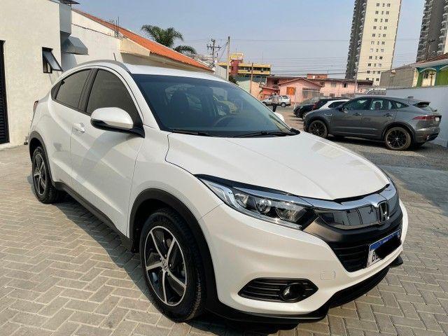VENDO Honda HR-V EXL 2019 com 28mil Km Branco Perola  - Foto 6
