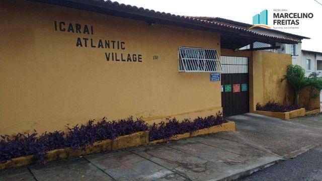 Apartamento com 2 dormitórios para alugar, 40 m² por R$ 709,00/mês - Icaraí - Caucaia/CE