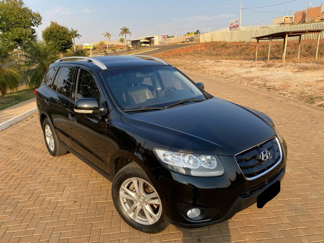 Hyundai Santa Fe 2011 3.5 v6 4x4 automático - 7 lugares- Teto solar- 285cv