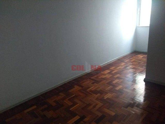 Apartamento com 2 dormitórios para alugar, 85 m² por R$ 1.000,00/mês - Centro - Niterói/RJ - Foto 11