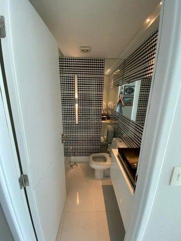 Hh1319  Setubal, apto 174m, 4 quartos, 3 suites,  3 vagas, 16´andar, $7300 tudo incluso - Foto 6