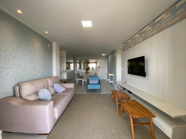 (ELI)TR72712. Apartamento no Porto das Dunas com 126m², 3 suítes, 2 vagas - Foto 2