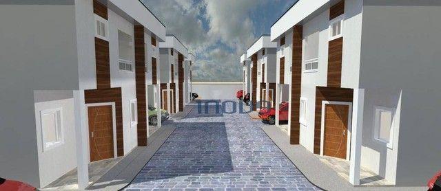 Casa com 3 dormitórios à venda, 75 m² por R$ 185.000,00 - Luzardo Viana - Maracanaú/CE - Foto 2
