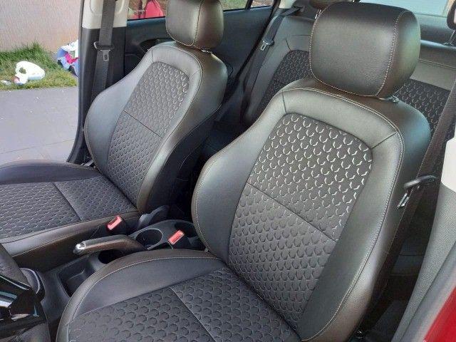Prisma ltz automático 2018 carro estado de novo - Foto 6