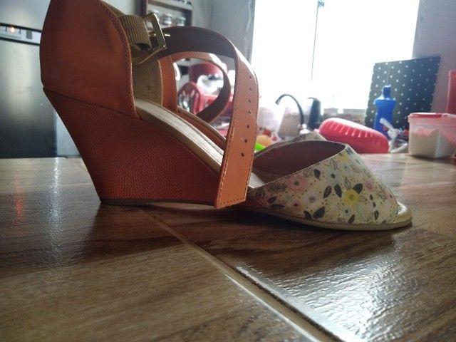 Sandália semi novo  - Foto 3