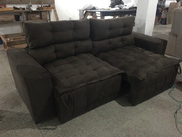 Sofá de luxo Retrátil e reclinável  - Foto 5