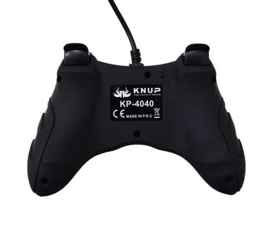 7991 - Controle para Video Game Ps3/Pc / Usb KP-4040 - Foto 5
