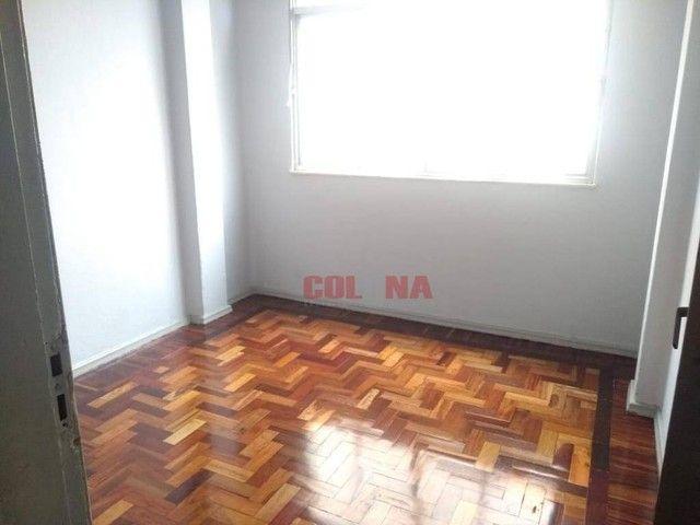 Apartamento com 2 dormitórios para alugar, 85 m² por R$ 1.000,00/mês - Centro - Niterói/RJ - Foto 5