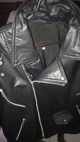 Blusão de couro  - Foto 3