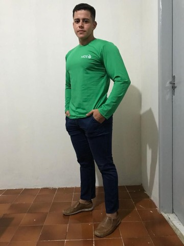 Camisa UV serigrafada - Foto 2