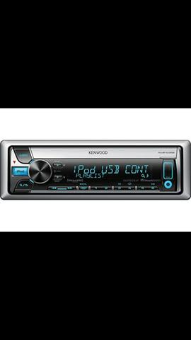 Cd Player Kenwood maritimo KMR-D358