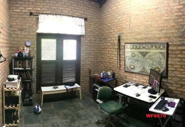 Casa duplex com 4 quartos, gabinete, 5 vagas, 1.200m² terreno, próx Edilson Brasil Soares - Foto 15