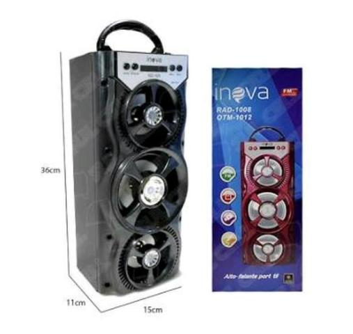 Caixa de Som 3 Alto-falantes Bluetooth ORIGINAL