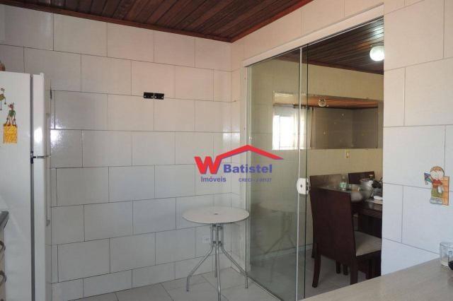 Casa com 3 dormitórios à venda, 160 m² por r$ 380.000 - rua líbia nº 358 - vila alto da cr - Foto 10