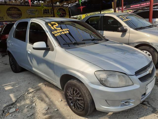 Vendo: Celta LT 1.0 2012 (Completão + Gnv) *48 x 399$ * Felipe !!!!! - Foto 2
